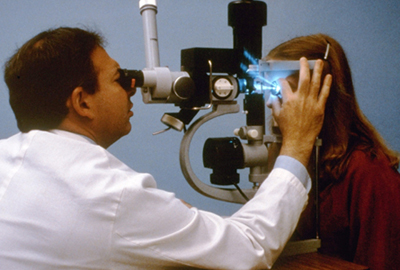 Laser Treatment of Open Angle Glaucoma